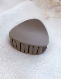 Fashion Khaki Medium Scrub Hair Clip