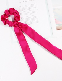 Fashion Rose Red Ribbon Bow Hair Band