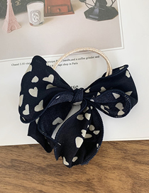 Fashion Navy Love Bow Rope