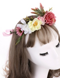 Fashion Red Flower Headband