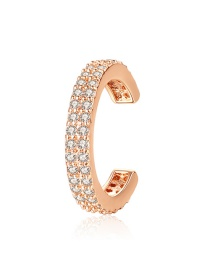 Fashion Gold Ear Bone Ring Unilateral