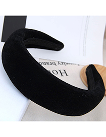 Fashion Black Thickened Headband