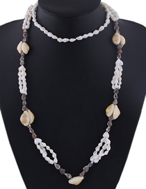 Fashion White Conch Shell Necklace