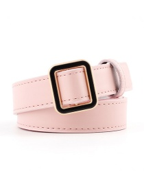 Fashion Pink Pin Buckle Belt