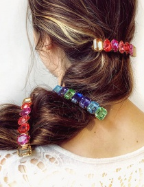 Fashion 246 Color Diamond Hair Clip