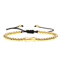 Fashion Gold Copper Plated Small Waist Belt Woven Bracelet