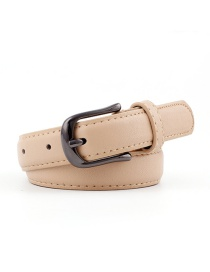 Fashion Khaki Pin Buckle Belt