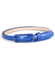 Fashion Baolan Flat Japanese Buckle Wide Belt