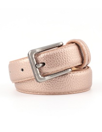 Fashion Bronze Alloy Buckle Stone Belt