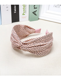 Fashion Pink Little Chiffon Point Headband