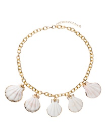 Fashion Gold Shell Necklace