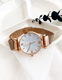 Fashion Gold Alloy Electronic Watch