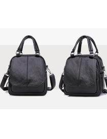 Fashion Black Multi-function Shoulder Bag