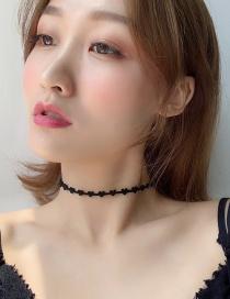 Fashion Black Love Necklace
