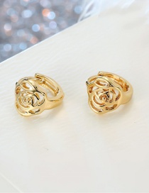 Fashion Small Flower Stainless Steel Earring