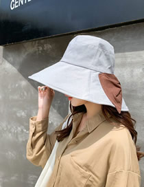 Fashion Silver Grey Double-sided Sun Hat