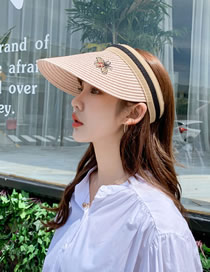 Fashion Light Pink Empty Top Baseball Cap