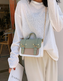 Fashion Matcha Green Crossbody Shoulder Bag