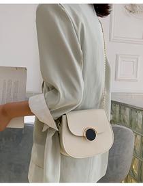 White Chain Shoulder Messenger Bag