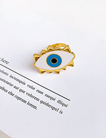 Fashion Eye Alloy Eye Ring