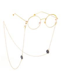 Fashion Gold Non-slip Rose Metal Chain