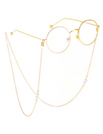 Fashion Gold Color-protection Pearl Chain