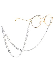 Fashion Silver Color-protected Thick Chain Metal Glasses Chain
