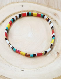 Fashion Color Rice Bead Bracelet
