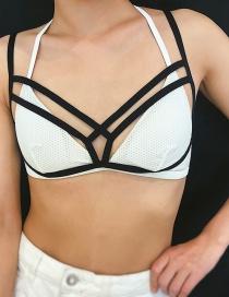 Fashion Black Elastic Body Chain