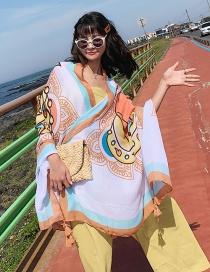 Fashion Thai Idol Oversized Sunscreen Shawl