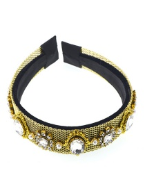 Fashion White Diamond Jewel Headband