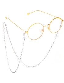 Fashion Silver Stainless Steel Triangle Chain Color Non-slip Glasses Chain