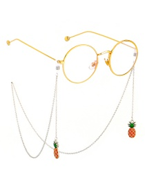 Fashion Gold Color Chain Dripping Eyes All Handmade Glasses Chain