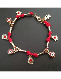 Fashion Red Palm Eye Bracelet