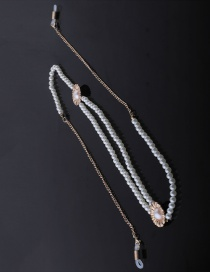 Fashion Gold Pearl Chain