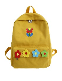 Fashion Yellow Flower Backpack