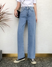 Fashion Blue Can Be Worn With Trousers And Two Wide-leg Jeans