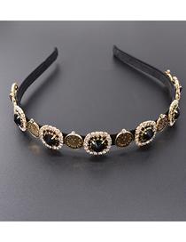 Fashion Gold Metal Headband