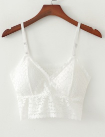 Fashion White Lace Wrapped Chest
