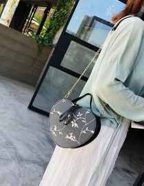 Fashion Black Lace Heart Embroidered Crossbody Shoulder Tote