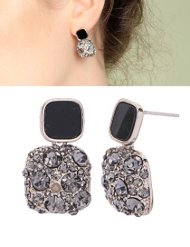 Fashion Ear Needle S925 Sterling Silver Stud Earrings