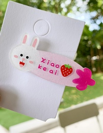 Fashion Bunny Cartoon Fruit Hair Clip