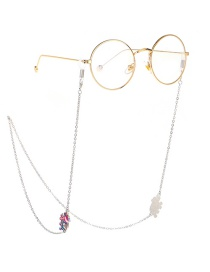Fashion Silver Elephant Chain Metal Glasses Chain