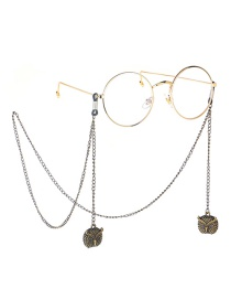 Fashion Bronze Owl Anti-skid Glasses Chain