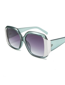 Fashion Gray Frame Double Gray C7 Big Box Sunglasses