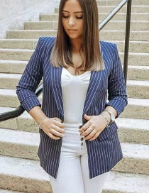 Fashion Stripe Striped Suit
