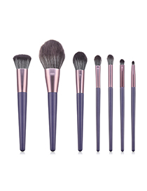 Fashion Purple 7 Mandala Makeup Brushes