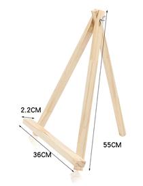 Fashion Large Bracket Wood Color Log Jewelry Display Stand