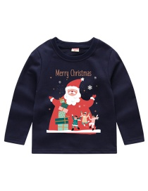 Fashion Navy Children's Sweater