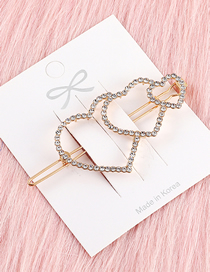 Fashion Kc Gold Love Hairpin
